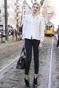 Models Off Duty: Botín Lily Donaldson | Galería de fotos 1 de 15 | Vogue