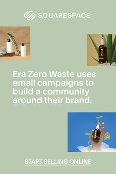 Squarespace Email Campaigns allow Era to build a community around their brand.