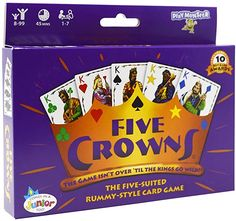 Amazon.com: SET Enterprises Five Crowns Card Game: Toys & Games Family Fun Games, Card Tricks, Games To Buy, First Game, Word Games, Christmas Games, Game Night, Pop Tarts, Toys