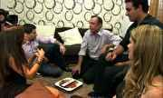 Mais Você - Convidados batem papo antes do jantar e falam sobre expectativas | globo.tv
