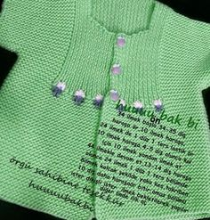 "jpg [ ""Bebe Yeleği, baby waistcoat, b… - Just DIY Arm Knitting, Knitting For Kids, Baby Knitting Patterns, Crochet For Kids, Baby Patterns, Knitting Ideas, Baby Pullover, Baby Cardigan, Baby Afghan Crochet"