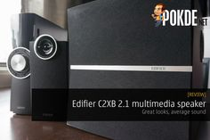 The Edifier C2XB 2.1 multimedia speaker system looks like serious business with a separate amplifier unit and subwoofer. However we have seen better from Edifier.   Share this:   Facebook Twitter Google Tumblr LinkedIn Reddit Pinterest Pocket WhatsApp Telegram Skype Email Print