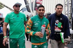 Photo Gallery | Canelo Alvarez vs. Amir Khan Weigh In | Round By ...