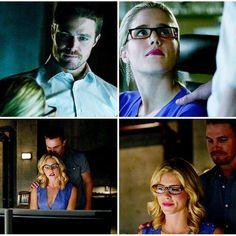 Arrow - Oliver & Felicity #1.18 #4.1 #Olicity <3
