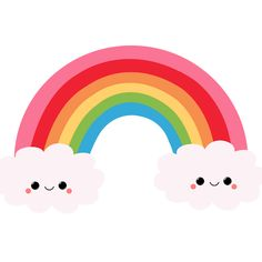 kawaii rainbow - Goo