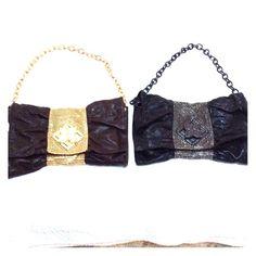 Bcbgmaxazria both bags are in new condition Bcbgmaxazria both bags are in new condition, Color brown/gold & black/silver. The handle are removable  BCBGMaxAzria Bags