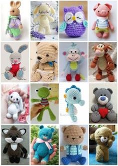 44 Awesome Crochet Amigurumi Patterns For You Kids for 2019 Part amigurumi for beginners; amigurumi for kids; amigurumi animals Amigurumi Animals 44 Awesome Crochet Amigurumi Patterns For You Kids for 2019 Part 5 Crochet Animal Patterns, Stuffed Animal Patterns, Crochet Patterns Amigurumi, Crochet Dolls, Knitting Patterns, Crochet Stuffed Animals, Crochet Dinosaur Pattern Free, Diy Crochet Animals, Knitting Toys