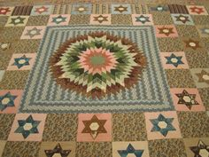 Quaker Quilts: Two Lesser Known Rebecca Scattergood Savery Quilts - Part 2