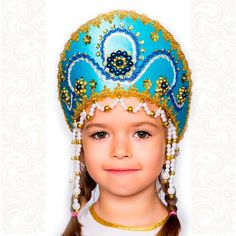 Kokoshnik tradicional rusa Alina