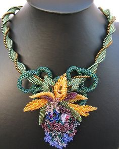 Tropical Paradise Necklace by Cielo Design, via Flickr
