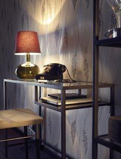 Ikea sleek black gloss desk besta burs range still has for Living room kirkcaldy