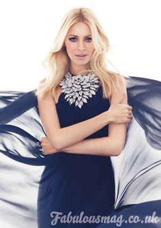 Tess Daly wears Butler and Wilson