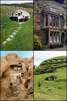 52 Fascinating Underground Homes That Go Above and Beyond Here are some examples of underground homes that will get you thinking... Could you live in an underground home?