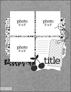 PageMaps Scrapbook Layout Sketches, Card Sketches, Scrapbooking Layouts, Scrapbook Cards, Page Maps, Picture Layouts, Photo Background Images, Photo Sketch, Multi Photo