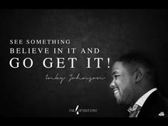 Amazingly Powerful Story About Inky Johnson. Created by Eric Thomas Special Edition To His Series Called Thank God Its Monday. Best Motivational Videos, Motivational Speeches, Motivational Quotes For Success, Meaningful Quotes, Great Quotes, Quotes To Live By, Me Quotes, Inspirational Quotes, Work Motivation