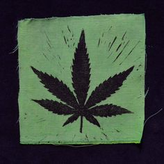 Items similar to Cannabis Leaf Sew on Patch - Green on Etsy Handmade Shop, Etsy Handmade, Handmade Items, Handmade Gifts, Sew On Patches, Give It To Me, My Etsy Shop, Invitations