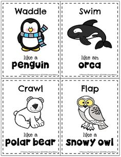 Looking for fun Arctic Animals Activities? Learn about Arctic Animals and their Traits as well as working on counting, shapes and letters and tracing. Animal Activities For Kids, Preschool Activities, Polar Animals Preschool Crafts, Animals For Kids, Animal Movement, Artic Animals, Animal Crafts, Blog, Letters