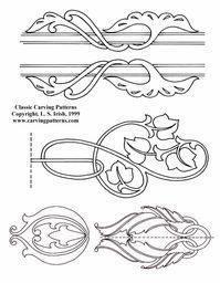 Classic Lines and Leaves Pattern Package - download