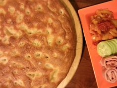 Focaccia bianca al latte Latte, Apple Pie, Italian Recipes, Buffet, Pizza, Desserts, Food, Gastronomia, Gourmet