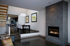 Gas log fire http://custom-fireplace.com/gas-fireplace/58.jpg