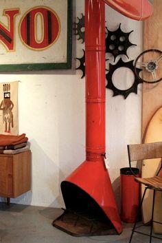 Re Mid century fireplace