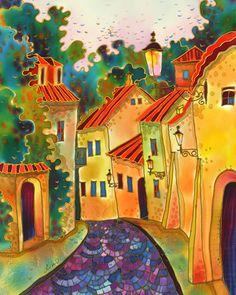 View of Prague ~ Yelena Sidorova