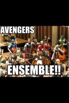 Band geeks and superhero geeks will understand