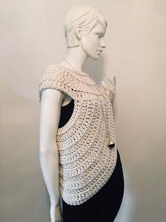 44 New Ideas for crochet cowl vest etsy Crochet Hat Pattern Kids, Crochet Baby Socks, Crochet Kids Scarf, Crochet Hat With Brim, Crochet Purse Patterns, Crochet Poncho, Crochet Slippers, Crochet Skirt Outfit, Crochet Summer Dresses