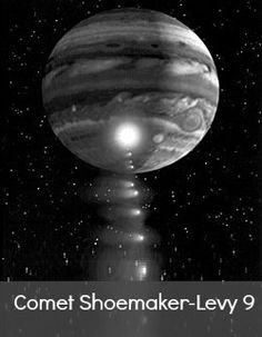 "Life Beyond Earth: A day Living on Shoemaker-Levy 9  Today, I would like to tell you what it would be like to live on my favorite comet, Shoemaker-Levy 9. But I can't. Not really anyways, because it no longer exists. Well, technically it exists. But now we call it ""Jupiter.""  Confused? Let me explain. In 1993, astronomers discovered a comet orbiting Jupiter, and they immediately noticed something strange about this comet. First, its orbital period was only about two"