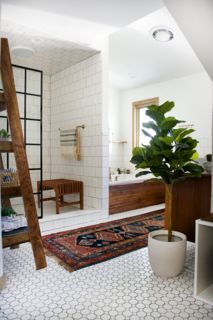 Before & After: An Outdated Bathroom Gets a Complete Makeover in Just 6 Weeks - Dwell