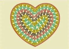 New Crochet Granny Square Heart Pattern Yarns Ideas Crochet Diy, Crochet Motifs, Crochet Diagram, Crochet Chart, Crochet Squares, Love Crochet, Crochet Doilies, Crochet Flowers, Crochet Stitches