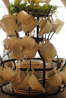 French bottle drying racks, always a popular item at LaurieAnna's!