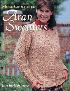 More Crocheted Aran Sweaters