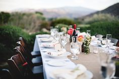 Party Rentals by  http://www.signatureparty.com/    Palm Springs Wedding ~ Mid-Century Modern Meets DIY