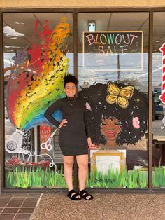 Window Art, Beauty Shop, The Dreamers, Paintings, Spring, Artist, Inspiration, Biblical Inspiration, Paint