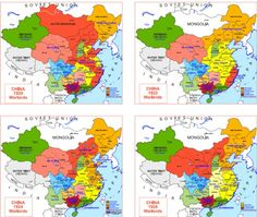 Hisatlas - Map of China World History, Art History, China Map, Atlas, Fantasy Map, Alternate History, Asian History, Map Design, Historical Maps
