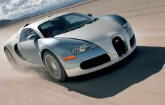 Most Expensive Car In The World - Bugatti Veyron ($1,700,000)