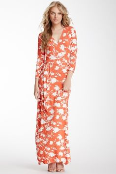 Faux Wrap Perfect Maxi Dress from HauteLook on Catalog Spree