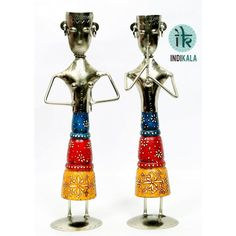 Name : Pair of Standing Musicians Price : Rs 1,949 Buy now at : http://www.indikala.com/decor/pair-of-two-wooden-standing-musicians.html #Antiques #Idols #Figurines #Decor