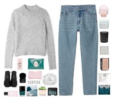 """""""I'm headed straight for the castle"""" by burning-citylights ❤ liked on Polyvore featuring Acne Studios, Monki, philosophy, Mimco, Horace, Brinkhaus, NARS Cosmetics, Davines, Givenchy and Rituals"""