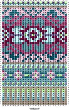 Stitch Fiddle is an online crochet, knitting and cross stitch pattern maker. Stitch Fiddle is an online crochet, knitting and cross stitch pattern maker. Crochet Stitches Chart, Knitting Charts, Loom Knitting, Knitting Stitches, Free Knitting, Crochet Pattern, Motif Fair Isle, Fair Isle Chart, Fair Isle Pattern