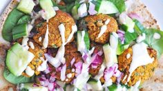 Sweet Potato Falafel is just one of the many healthy meals I have on my site - be sure to check out the delicious, easy, vegan recipes at kriscarr.com :)