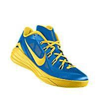 blue and yellow hyperdunks