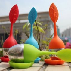Silicone and Stainless Steel Leaf Infuser