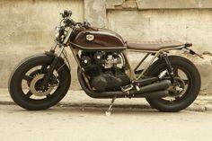Honda CBX 750 Brat Style