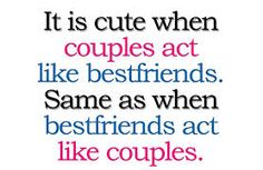 :) my boyfriend and I!