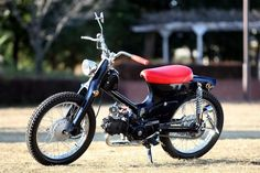 """Fermion"" Super Cub custom by Cone Custom Bike, Japan"