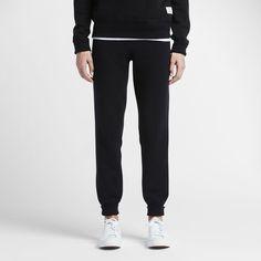 Converse Essentials Sportswear Women's Sweatpants Size Medium (Black)