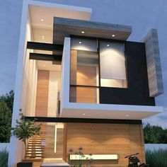 Modern Wood Black And White Elevation Good Home Idea, Beautiful And  Contemporary Architectural Design! Part 31