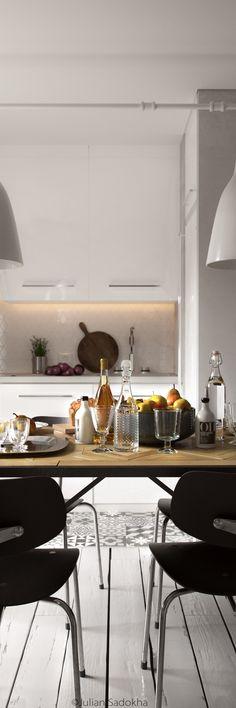 bohemian-kitchen-design.jpg (1100×3300)
